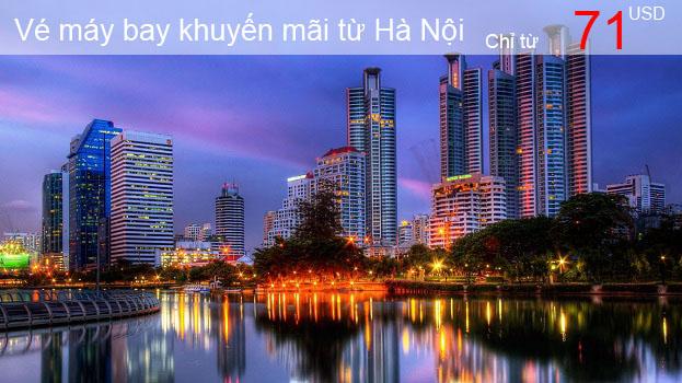 Vé máy bay Thai Airways khuyến mãi từ Hà Nội