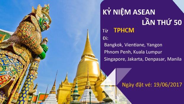 Thai Airways kỷ niệm Asean lần thứ 50 tại Việt Nam