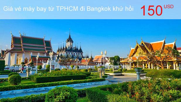 Vé máy bay đi Bangkok từ TPHCM