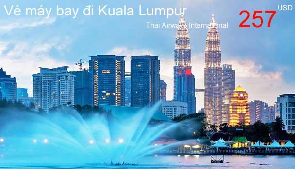 Vé máy bay đi Kuala Lumpur giá rẻ