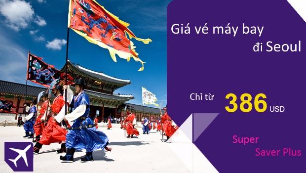 Vé máy bay đi Seoul giá rẻ của Thai Airways