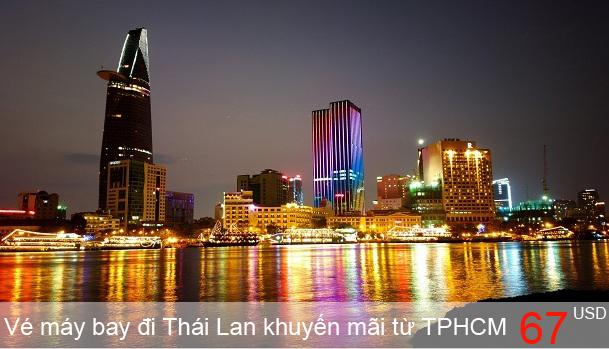 Vé máy bay đi Thái Lan khuyến mãi