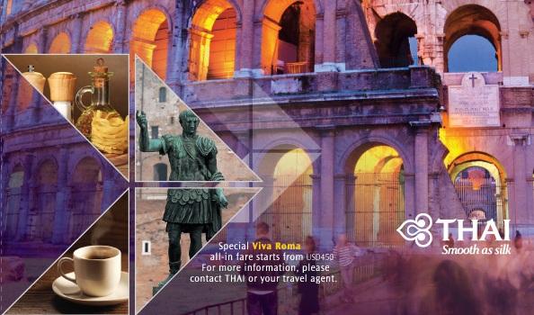 Vé máy bay khuyến mãi đi Rome