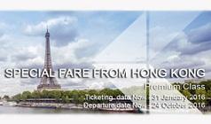 Vé máy bay Thai Airways khuyến mãi từ Hong Kong