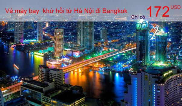 Vé máy bay từ Hà Nội đi Bangkok