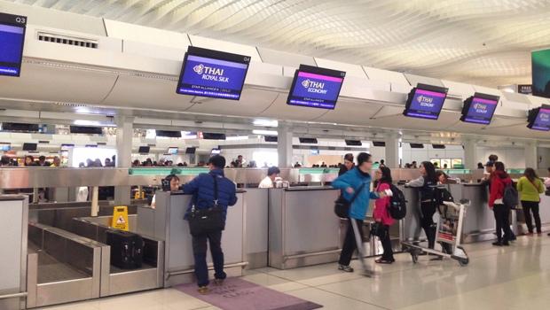Check in vé máy bay Thai Airways