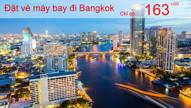 Đặt vé máy bay đi Bangkok