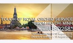 Khuyến mãi giá vé hạng thương gia tại TPHCM