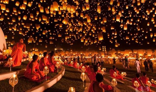 Lễ hội Loi Krathong Thái Lan