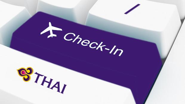 Check in trực tuyến vé máy bay Thai Airways