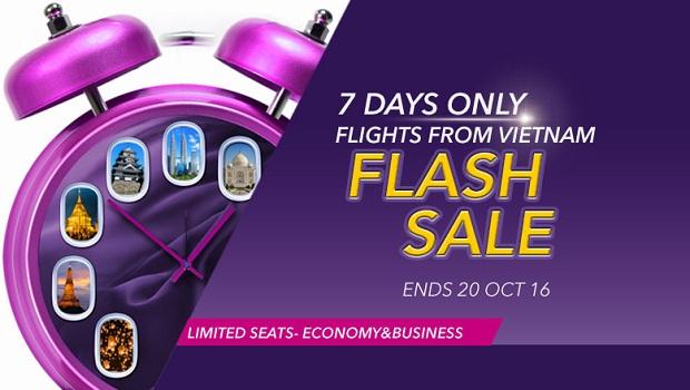 Khuyến mãi flash sale từ Hà Nội