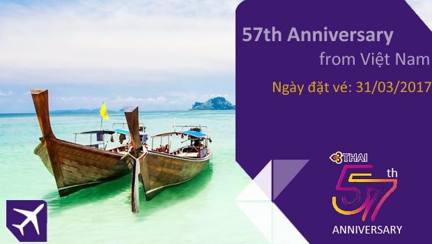 Thai Airways kỷ niệm lần thứ 57
