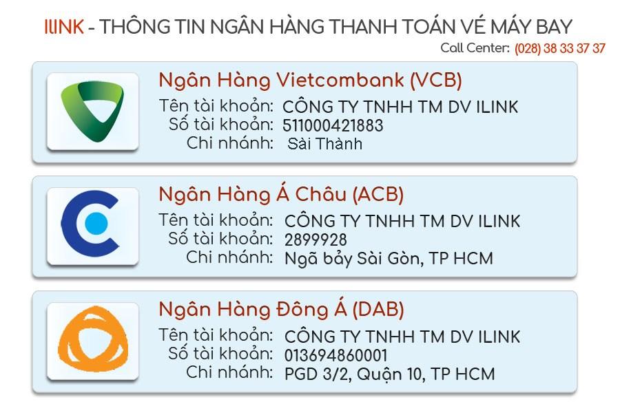 Thanh toán vé máy bay Thai Airways