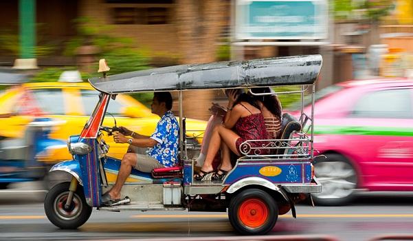 Xe Tuk Tuk tại Bangkok