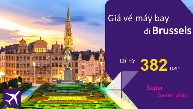 Vé máy bay đi Brussels giá rẻ
