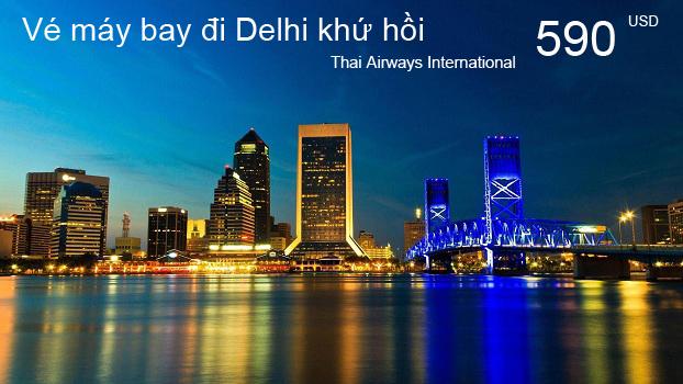 Vé máy bay đi Delhi Ấn Độ