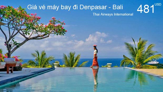 Vé máy bay đi Denpasar