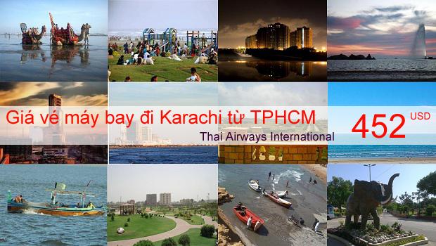 Vé máy bay đi Karachi Pakistan