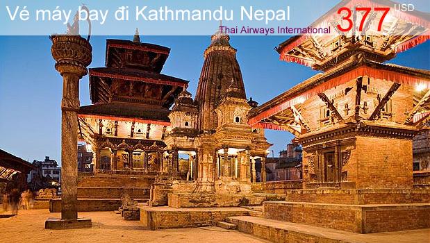 Vé máy bay đi Kathmandu