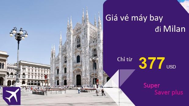 Vé máy bay đi Milan giá rẻ