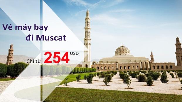 Vé máy bay đi Muscat, Oman giá rẻ