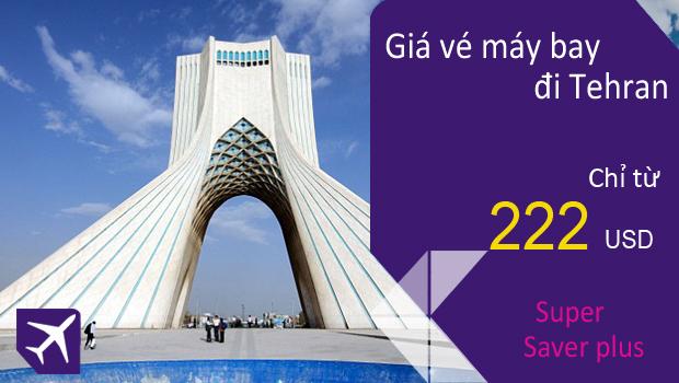 Vé máy bay đi Tehran