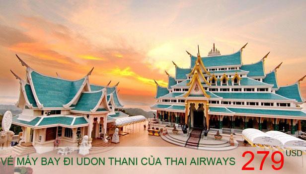 Vé máy bay đi Udon Thani