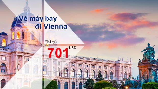 Vé máy bay đi Vienna giá rẻ nhất tại Việt Nam