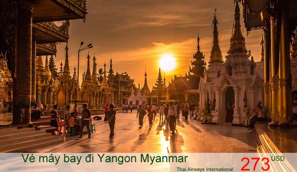 Vé máy bay đi Yangon