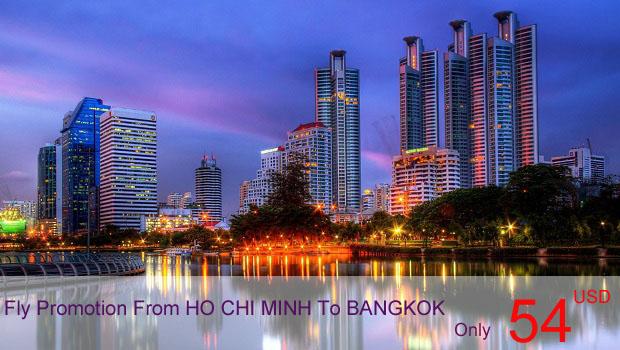 Vé máy bay khuyến mãi đi Bangkok
