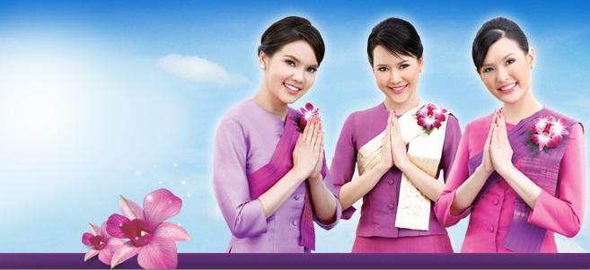 Vé máy bay Thai Airways khuyến mãi