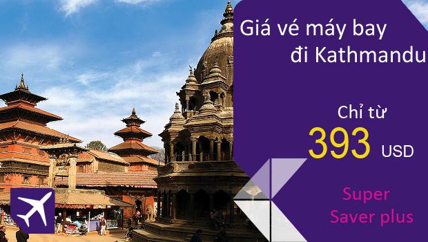 Vé máy bay từ TPHCM đi Kathmandu